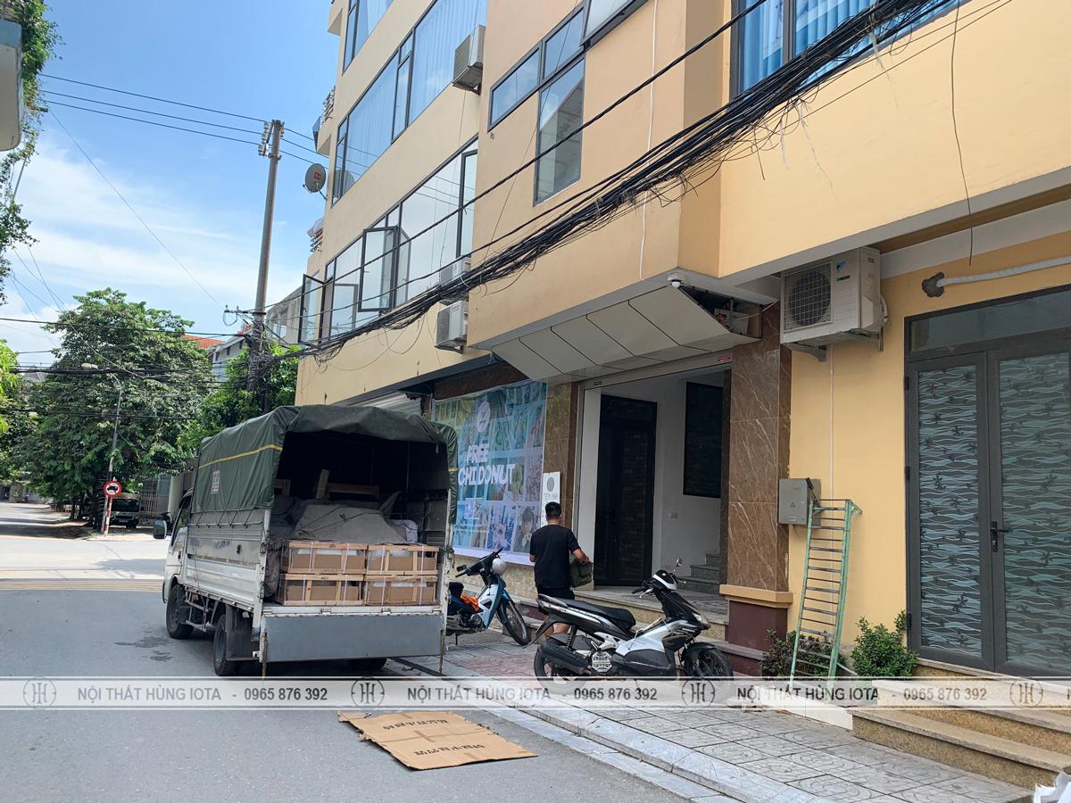 Lắp đặt nội thất spa làm dưỡng sinh ở Phú Thọ