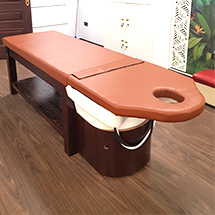 Giường spa 2 in 1 lỗ úp mặt ngoài bồn GG08