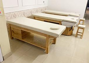 Thumb lắp đặt nội thất spa, giường spa - giường gội spa cho Thanh Tâm Hải Dương