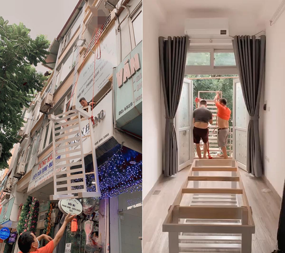 Vận chuyển giường spa cho nhà khách nhỏ hẹp ở Long Biên