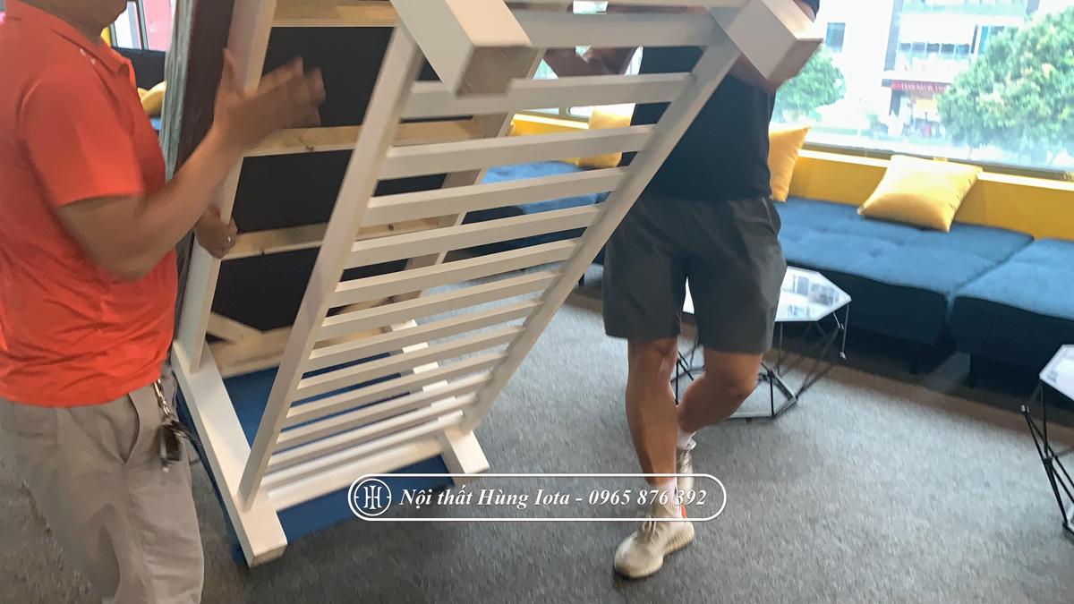 Vận chuyển lắp đặt giường spa cho phòng tập tại Cầu Giấy