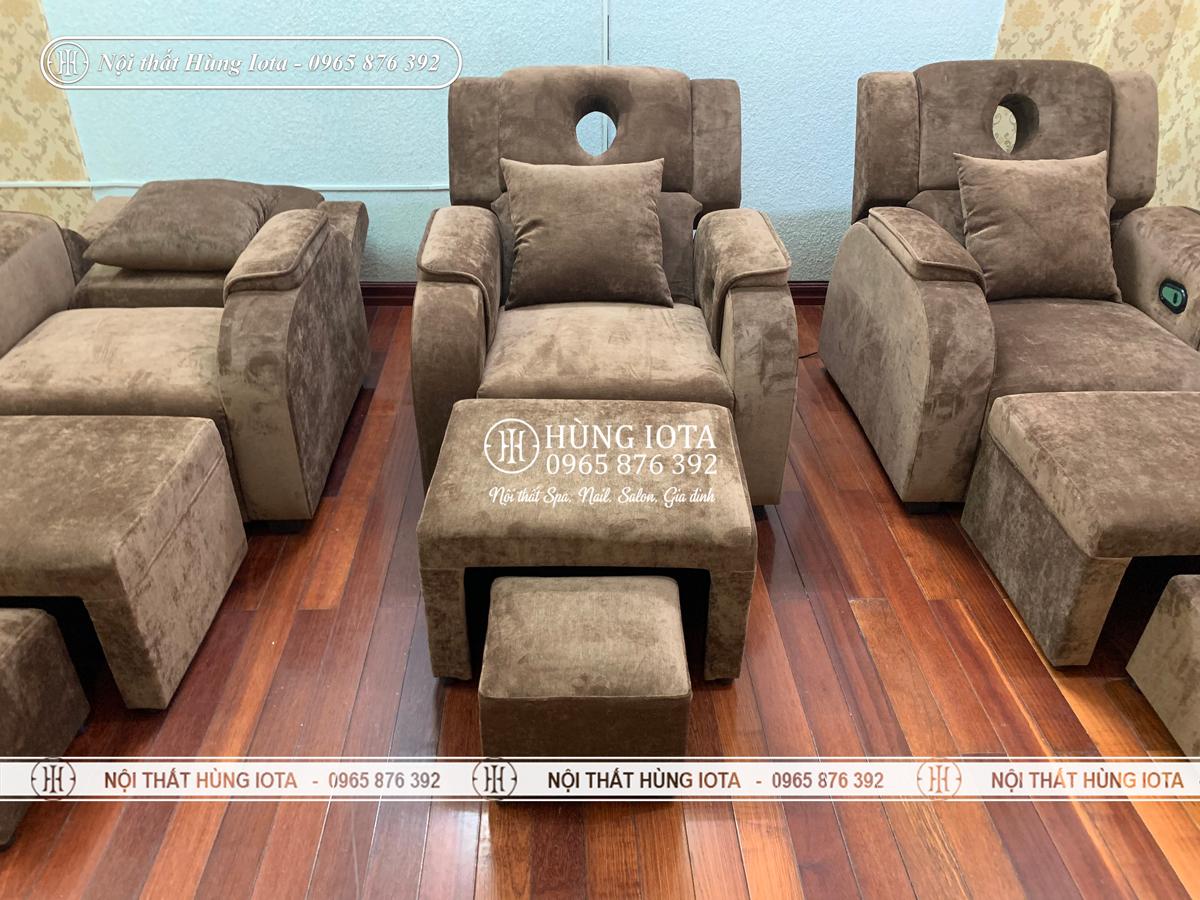 Ghế foot massage chân giá rẻ đẹp nâng điện