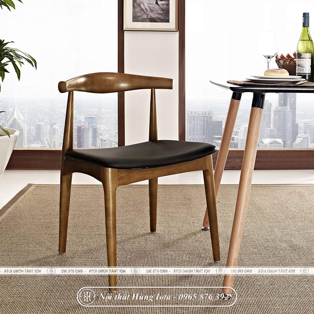 Ghế gỗ cafe bull đẹp không tay cầm giá rẻ