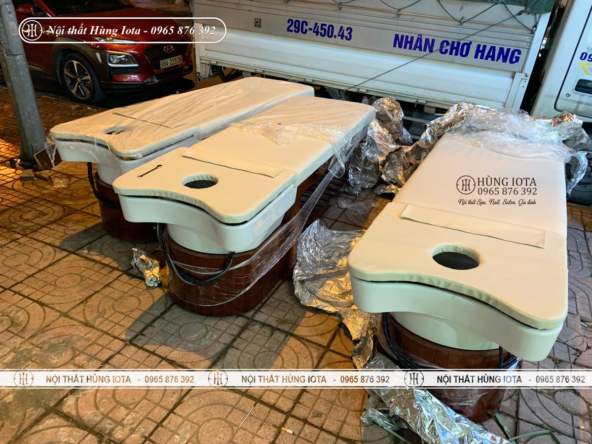 Giường spa 2 in 1 ở Bắc Ninh bồn sứ đẹp giá rẻ ở Bắc Ninh