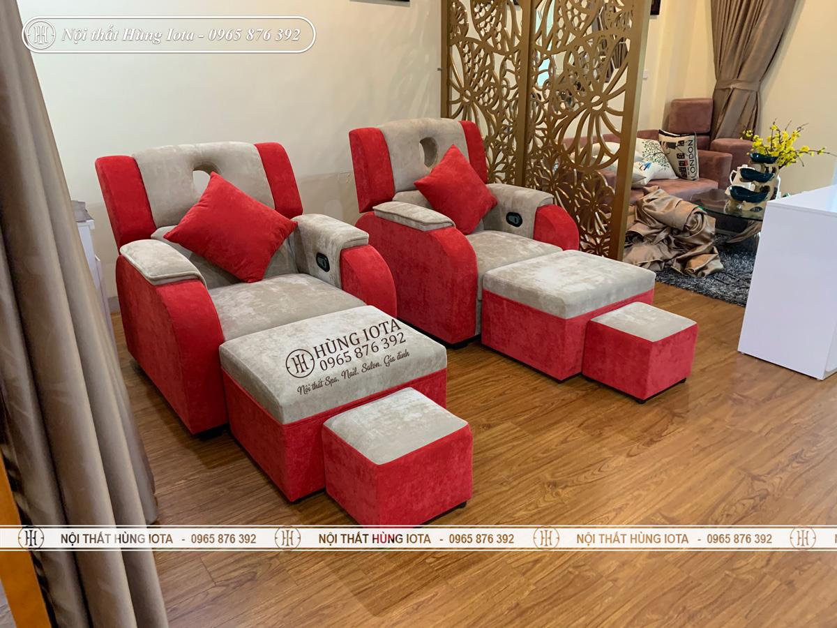 Lắp đặt ghế foot massage ở Hưng Yên