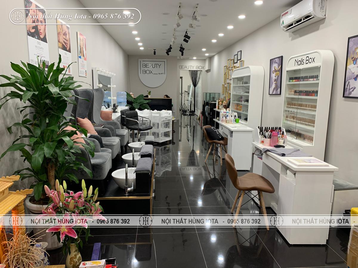 Lắp đặt nội thất thẩm mỹ viện Beauty Box ở Bà Triệu