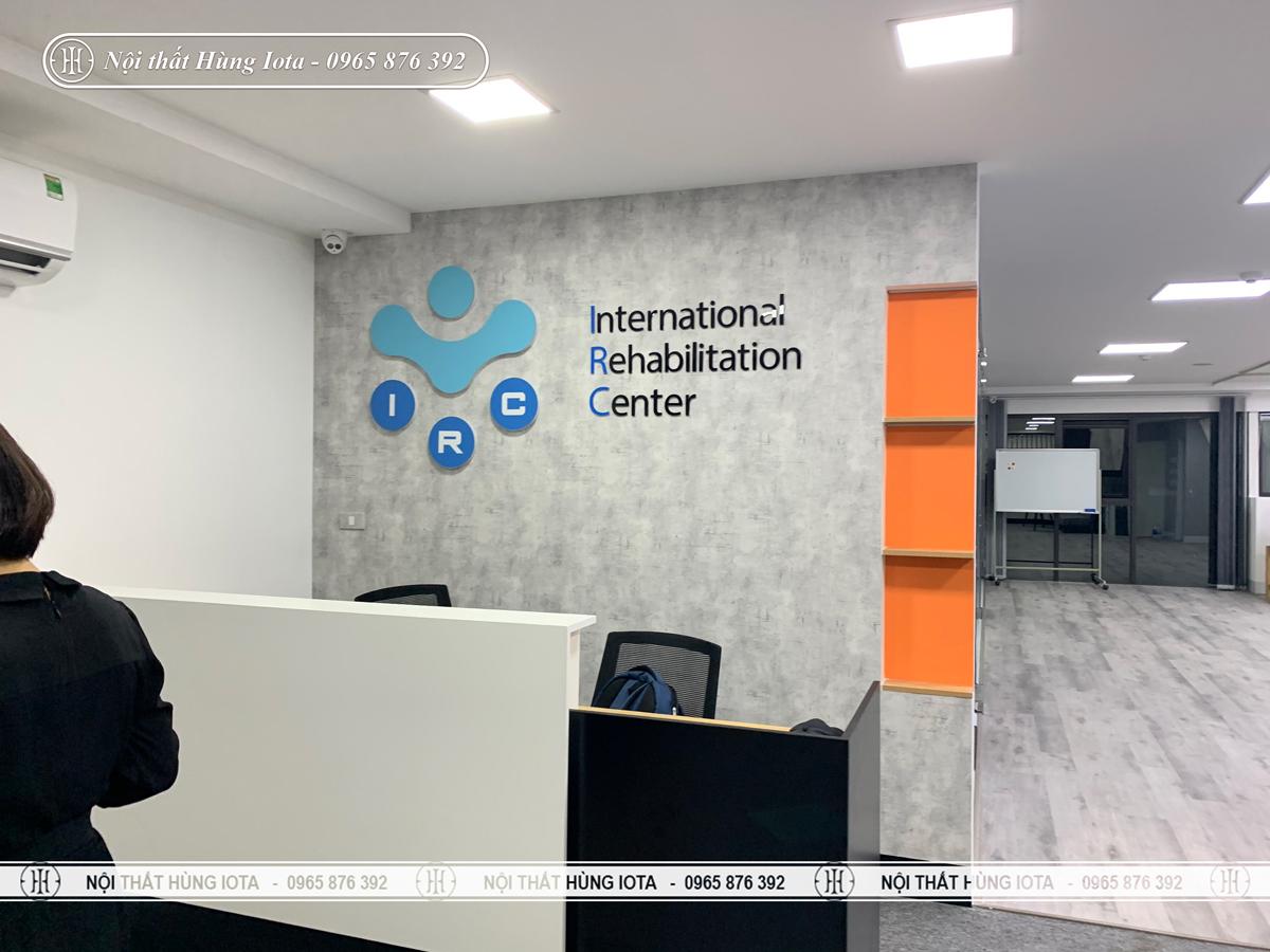 Lắp đặt nội thất trung tâm phục hồi chức năng IRC ở Hà Nội