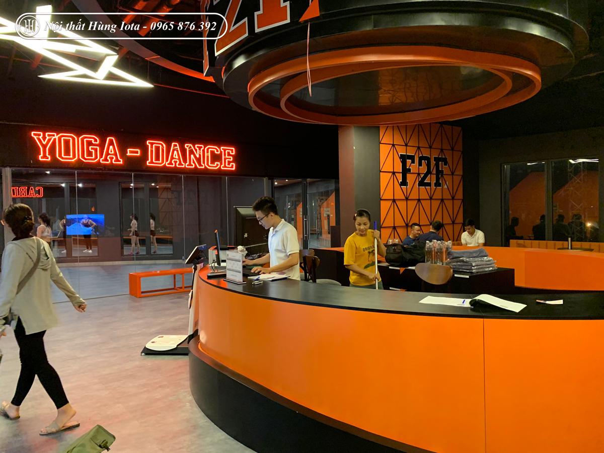 Lắp đặt phòng massage body cho phòng tập Gym F2F Dương Văn Bé