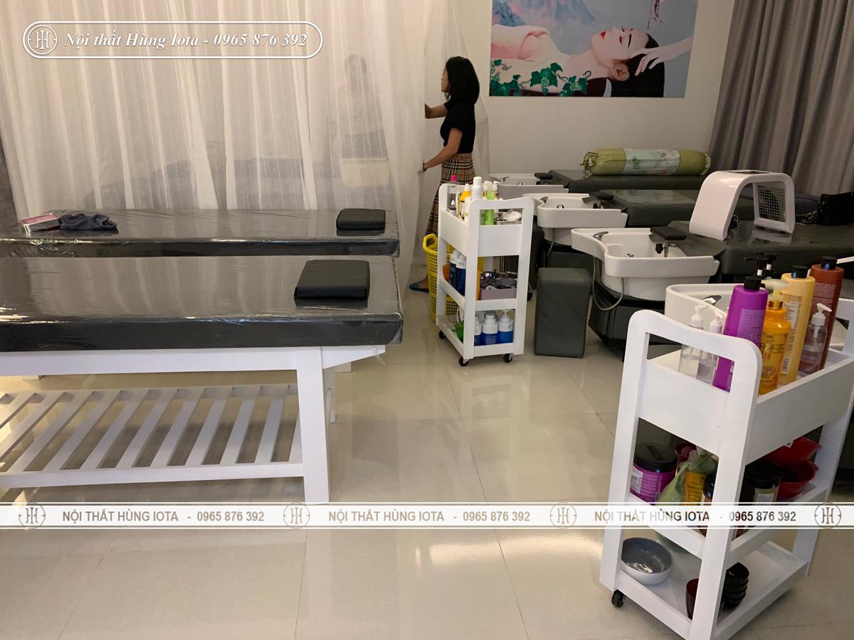 Nội thất dưỡng sinh Shin Beauty ở Chung cư Vinhomes Green aby