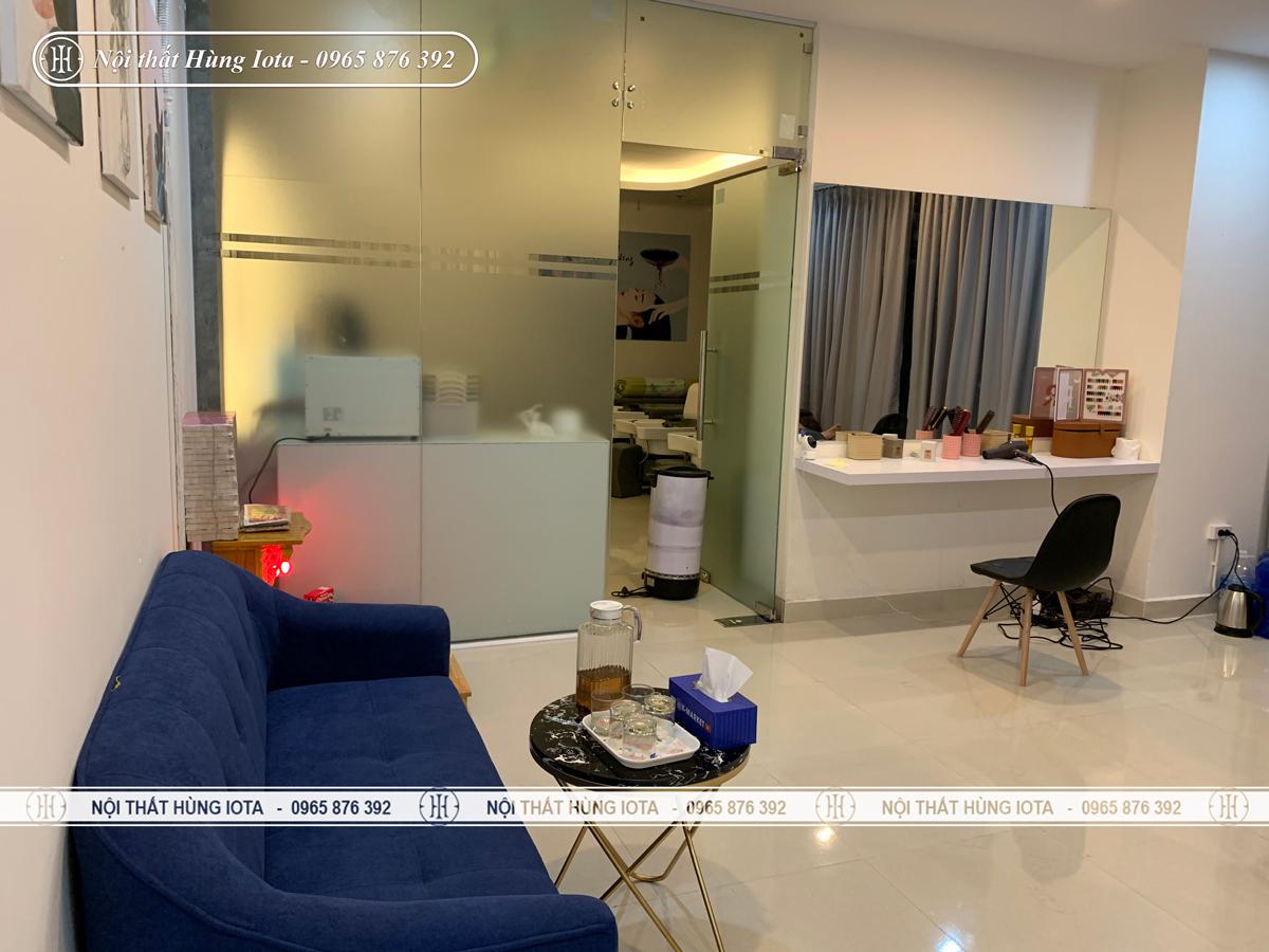 Nội thất spa Shin Beauty ở chung cư Green Bay