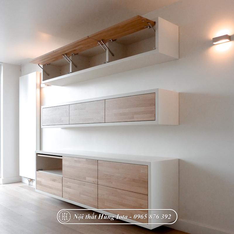 Tủ spa treo tường màu gỗ đẹp giá rẻ