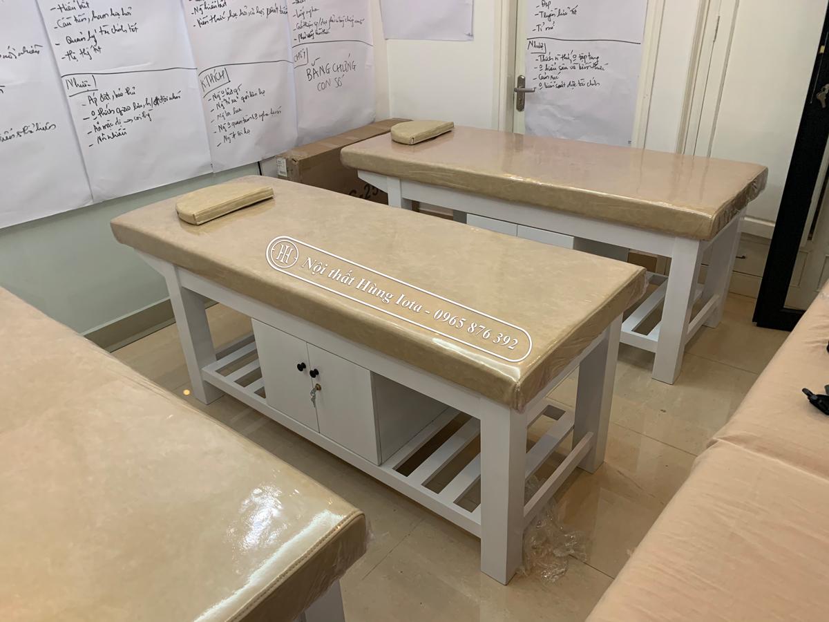 Xưởng sản xuất giường spa ở Hà Nội
