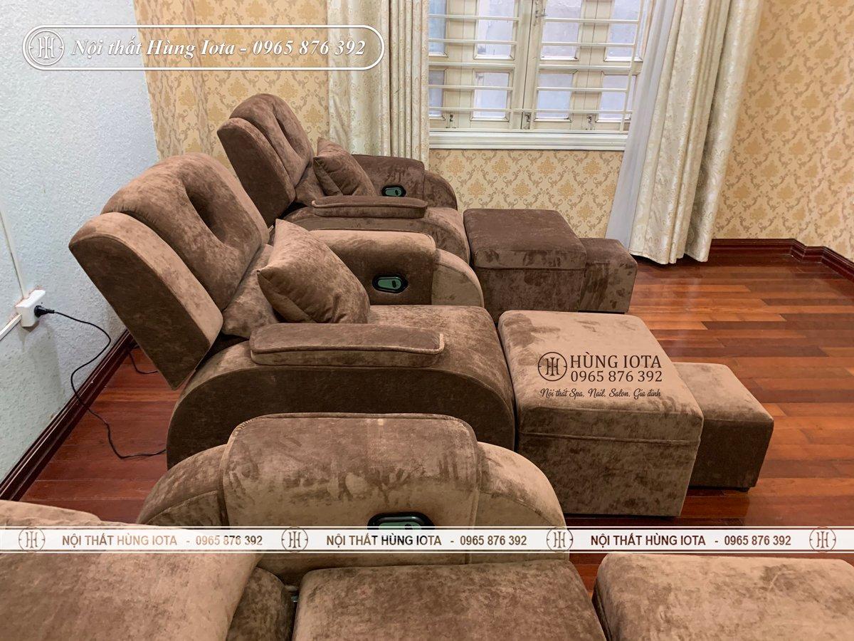 Ghế massage chân cao cấp giá rẻ tại xưởng sản xuất
