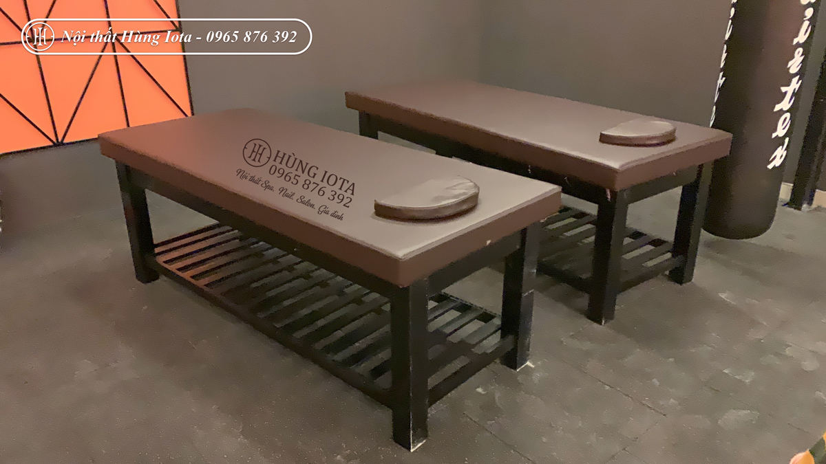 Giường vật lý trị liệu làm massage body, spa cho phòng tập Gym