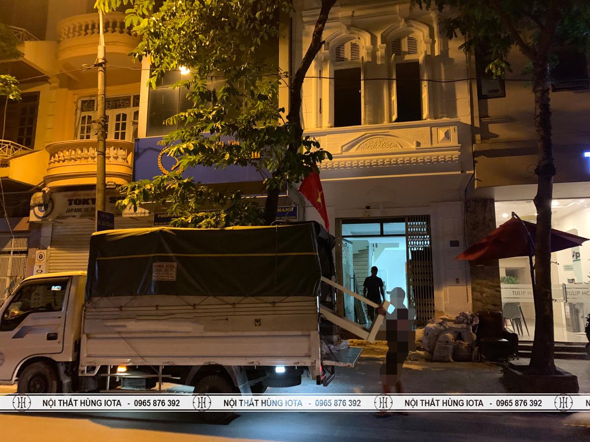 Lắp đặt giường spa cho thẩm mỹ viện ở Vũ Ngọc Phan, Đống Đa