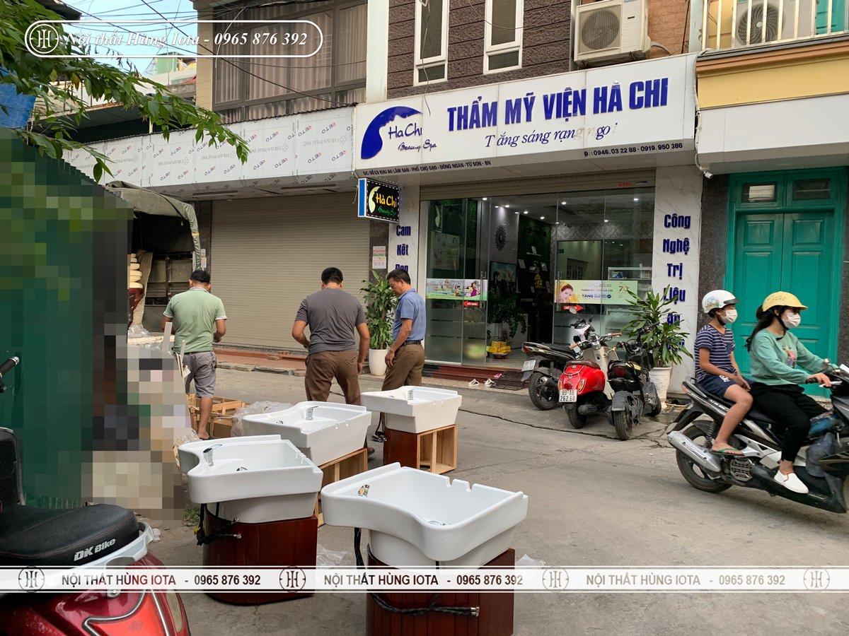 Nội thất spa Hà Chi ở Bắc Ninh
