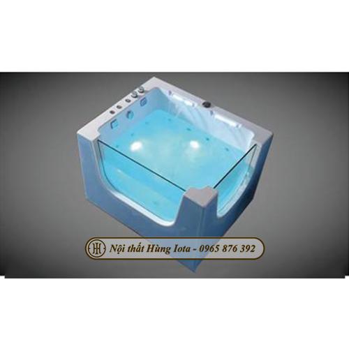 Bồn tắm massage thủy lực cho bé HIT-031A màu xanh giá rẻ