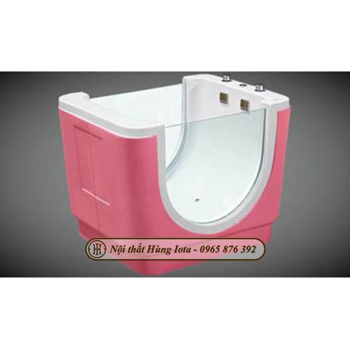 Bồn tắm massage trẻ em màu hồng HIT-XS17 nhỏ giá rẻ