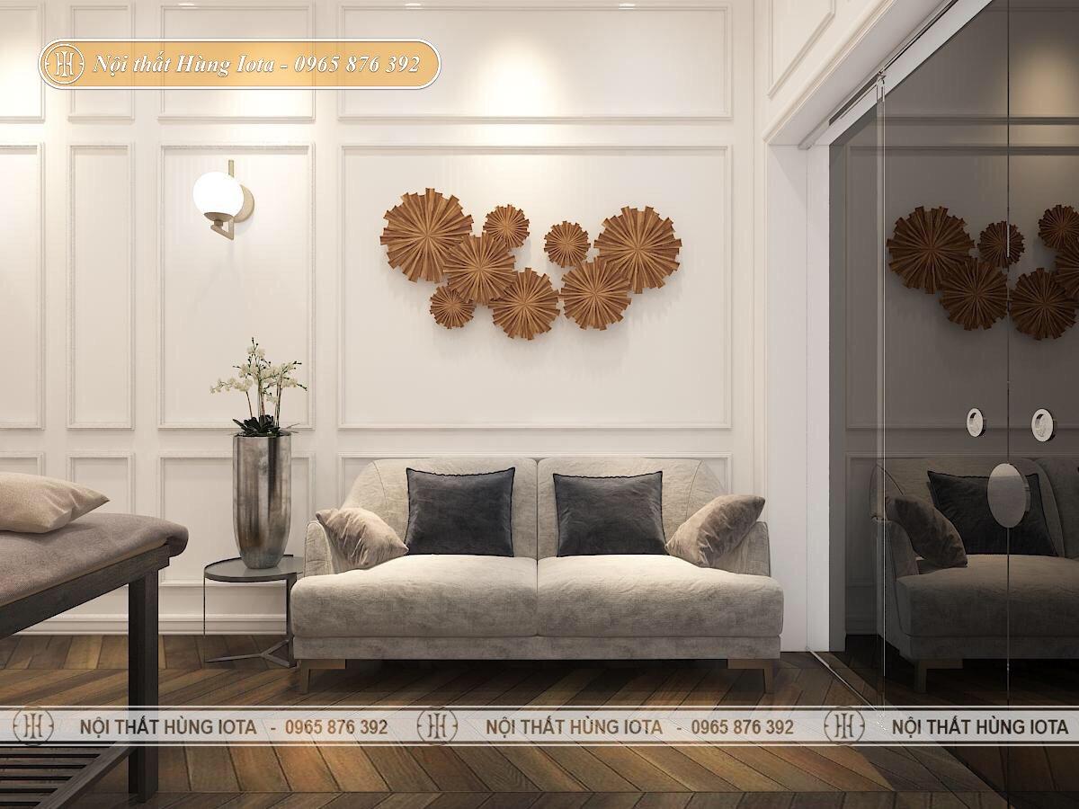 Ghế sofa màu xám cho BG Beauty & Academy