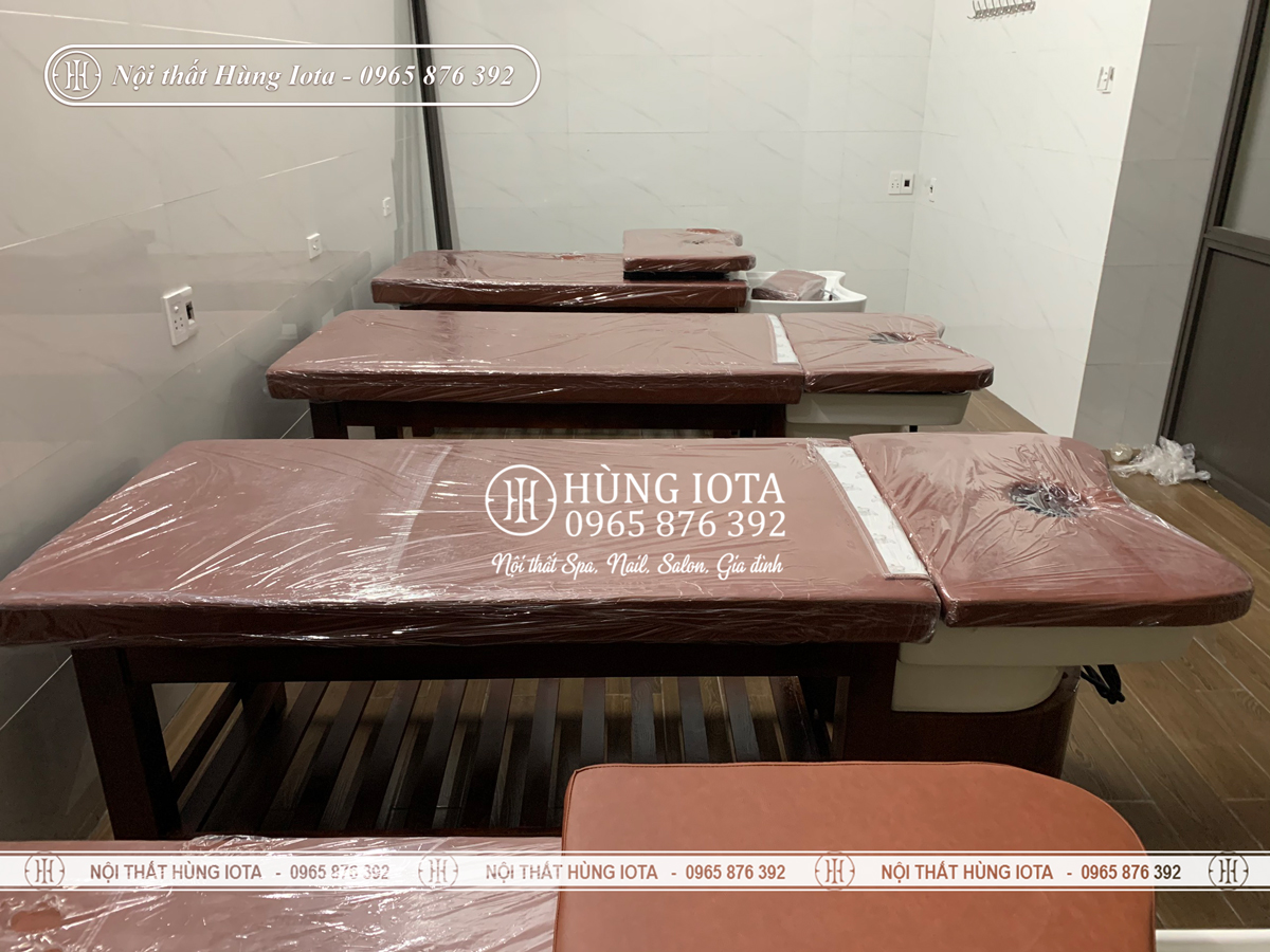 Giường gội spa 2 in 1 tại Nghệ An đẹp giá rẻ