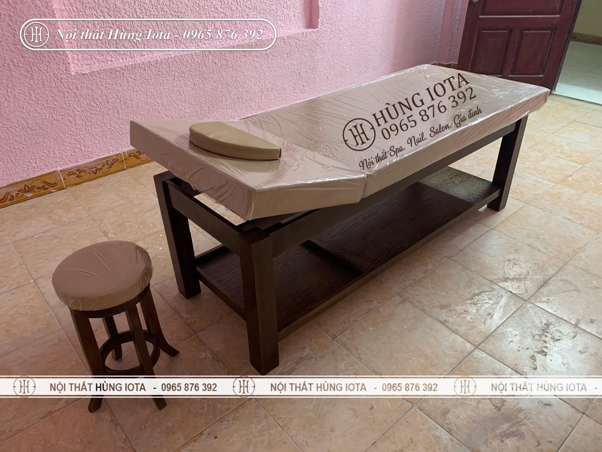 Giường massage cho khách sạn Thăng Long ở Như Quỳnh, Hưng Yên
