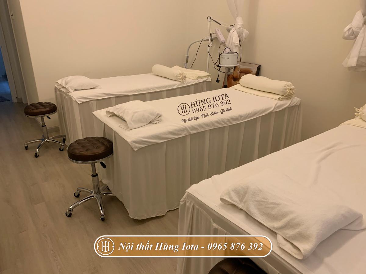 Giường spa cho thẩm mỹ viện Belleza ở Đống Đa