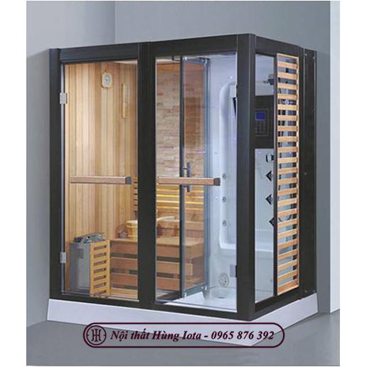 Phòng xông hơi khô kết hợp ướt sang trọng tiện nghi HIP-D8879(L/R)