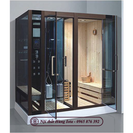 Phòng xông hơi 2 in 1 kết hợp xông ướt và xông khô HIP-8862-1(L/R)