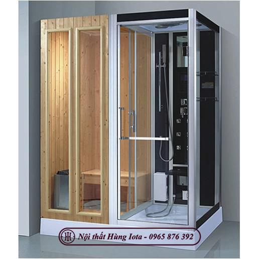 Phòng xông hơi khô ướt kết hợp nhập khẩu giá rẻ HIP-D8856-2(L/R)