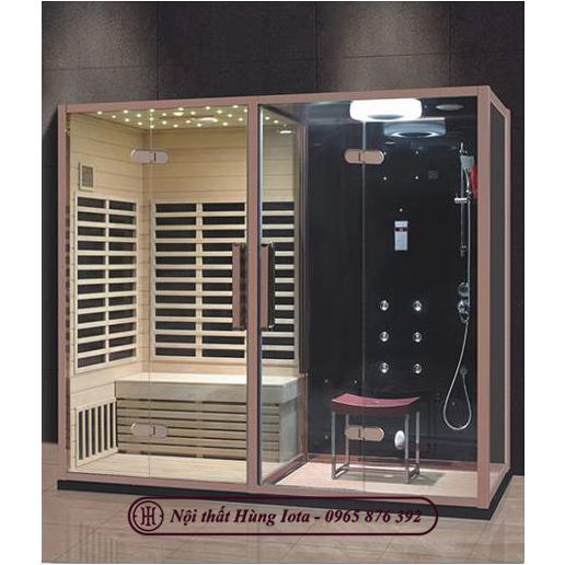 Phòng xông hơi khô kết hợp ướt cao cấp giá tốt nhất thị trường HIP-8012