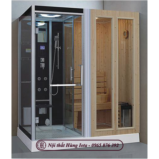 Phòng xông hơi khô ướt kết hợp cao cấp HIP-D8856(L/R)