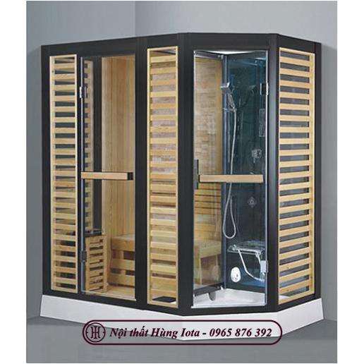 Phòng xông hơi khô kết hợp ướt cao cấp HIP-D8877(L/R)