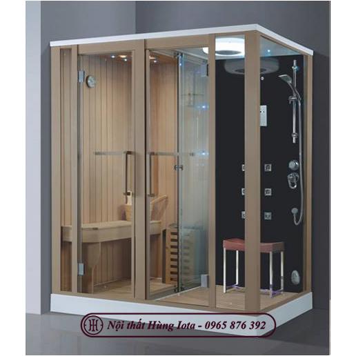Phòng xông hơi khô kết hợp ướt đẹp sang trọng HIP-9005(L/R)