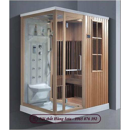 Phòng xông hơi khô kết hợp ướt đa năng dùng cho gia đình HIP-9003(L/R)