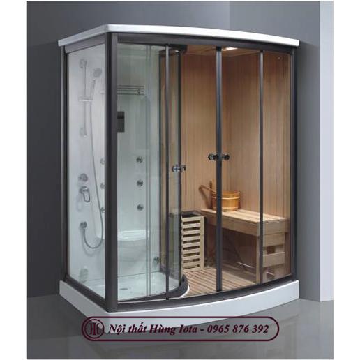 Phòng xông hơi khô kết hợp ướt cao cấp nhập khẩu HIP-9008