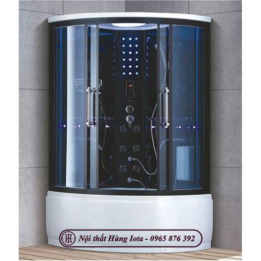 Phòng xông hơi ướt spa đẹp cong nhỏ HI-7031