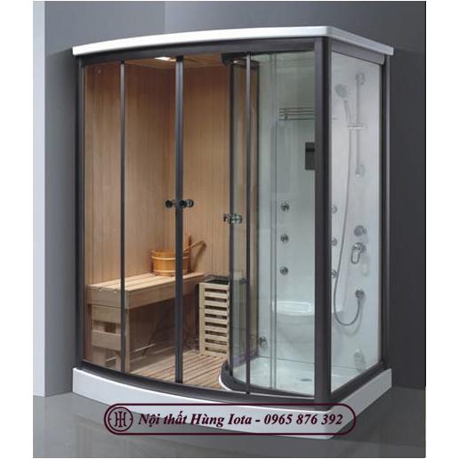 Phòng xông hơi khô kết hợp ướt nhỏ gọn tiện nghi HIP-9007