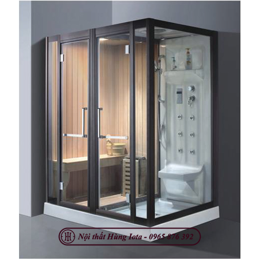 Phòng xông hơi spa hình chữ nhật 2 in 1 HIP-9009(L/R) đẹp
