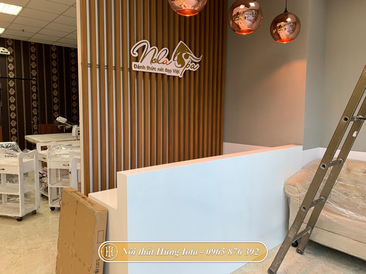 Thiết kế nội thất spa Nola ở Cầu Giấy đẹp