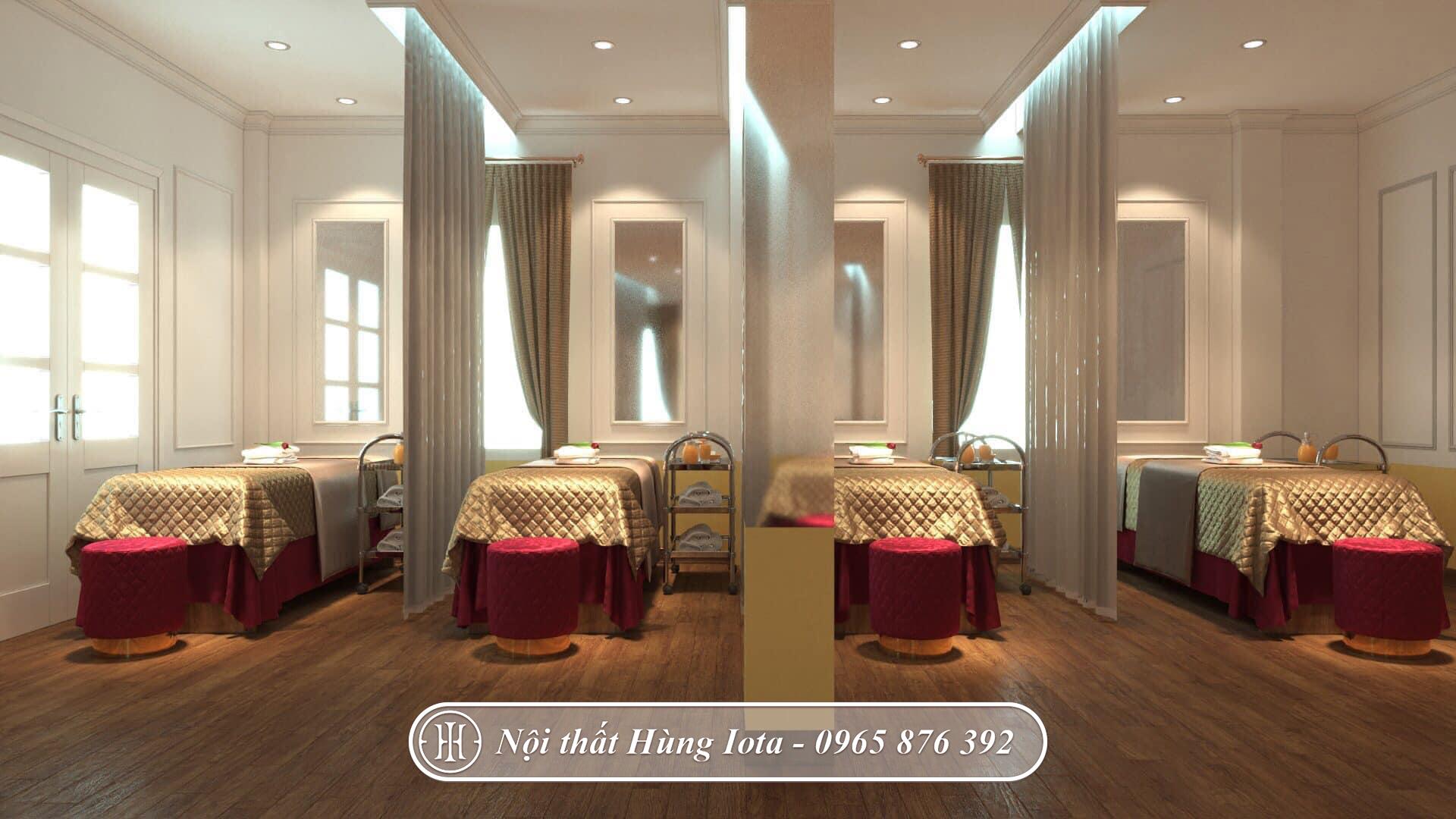 Thiết kế phòng chăm sóc da ở Quảng Ninh phong cách Dome Housse