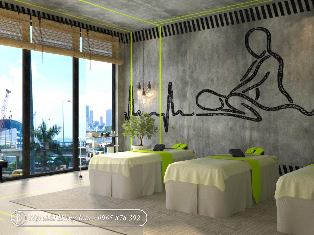 Thiết kế nội thất phòng massage spa đẹp sang trọng