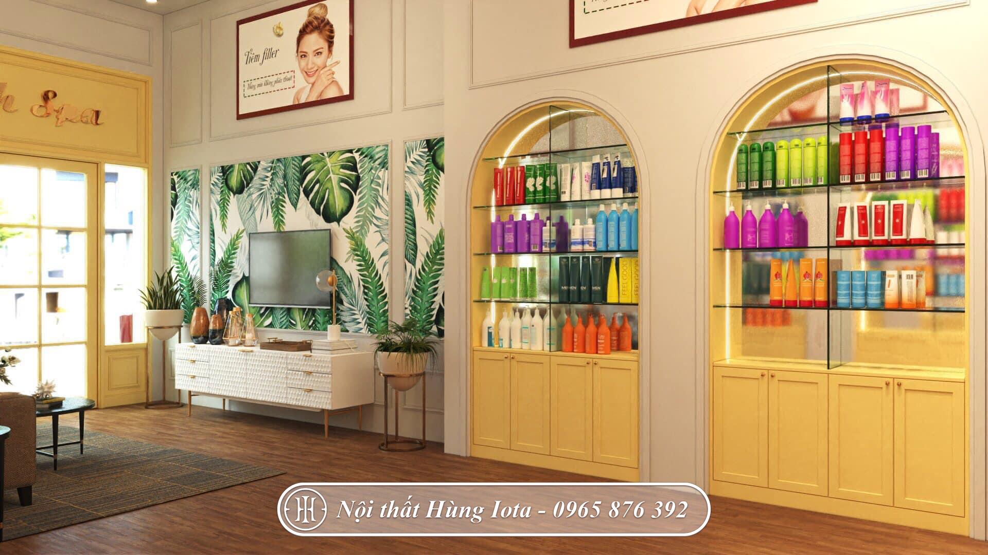 Thiết kế phòng tư vấn tiếp khách spa tại Uông Bi, Quảng Ninh phong cách Dome House