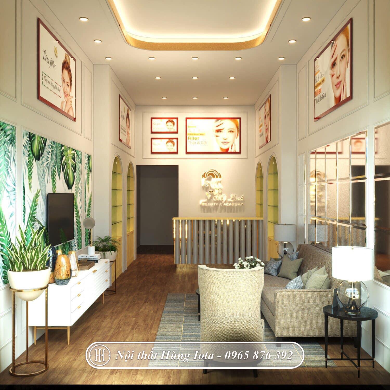 Thiết kế spa Mỹ Linh Beauty Spa & Academy sang trọng ở Quảng Ninh