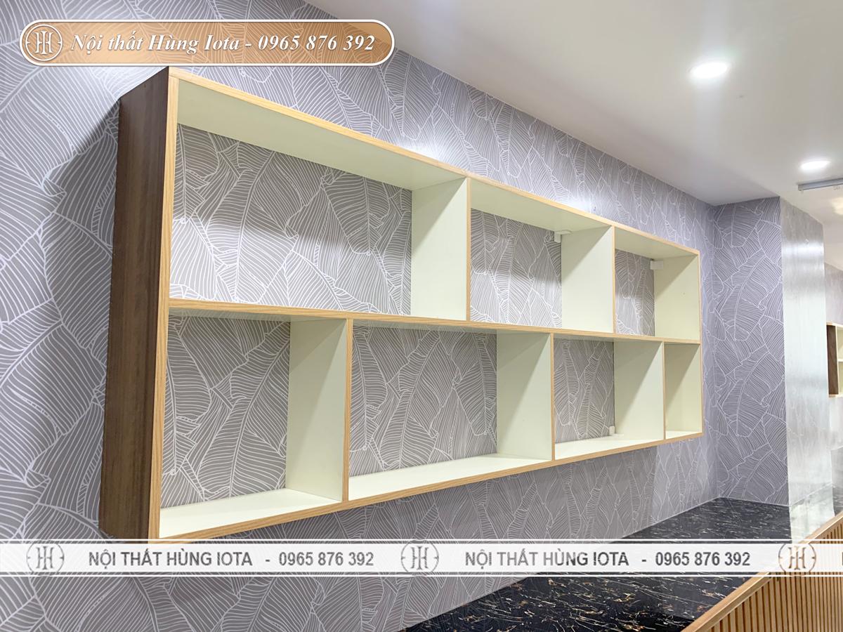 Thiết kế tủ treo tường spa ở Mỹ Đình, Hà Nội