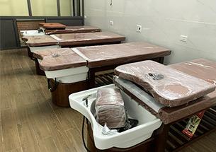 Thumb giường gội đầu dưỡng sinh cho salon tóc Hai Chị Em ở Nghệ An