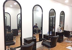 Gương cắt tóc hình vòm đẹp giá rẻ cho salon GCT33