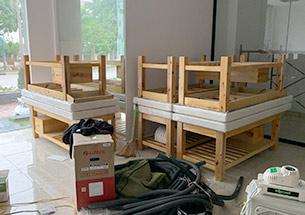 Thumb lắp đặt giường spa ở khu đô thị Nghĩa Đô, Cầu Giấy