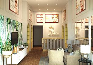 Thumg thiết kế nội thất spa Mỹ Linh Beauty Spa & Academy ở Quảng Ninh