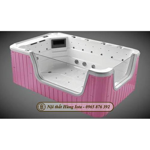 Bồn tắm massage thủy lực giá rẻ kết hợp sục khí hiện đại HIT-068