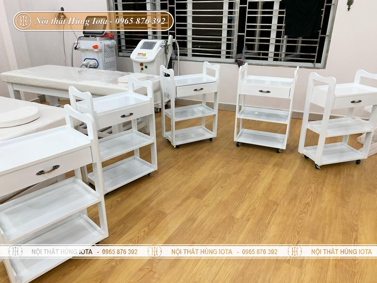 Lắp đặt nội thất spa tại Quảng Ninh
